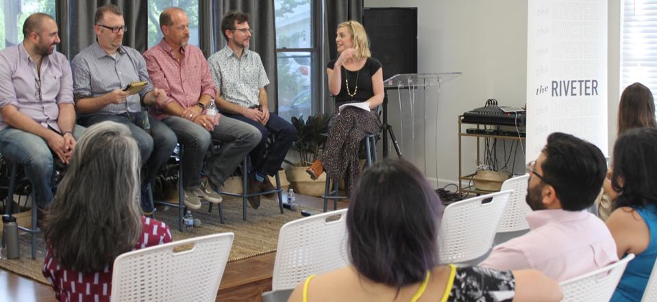 Riveter Prowess Panel, social entrepreneur, gender equality, talent sourcing, prowess project, return to work, onboarding