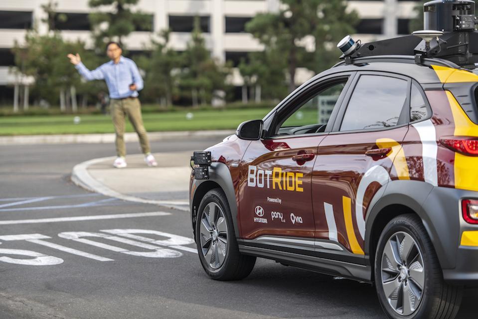 Car is based on Hyundai KONA electric SUV