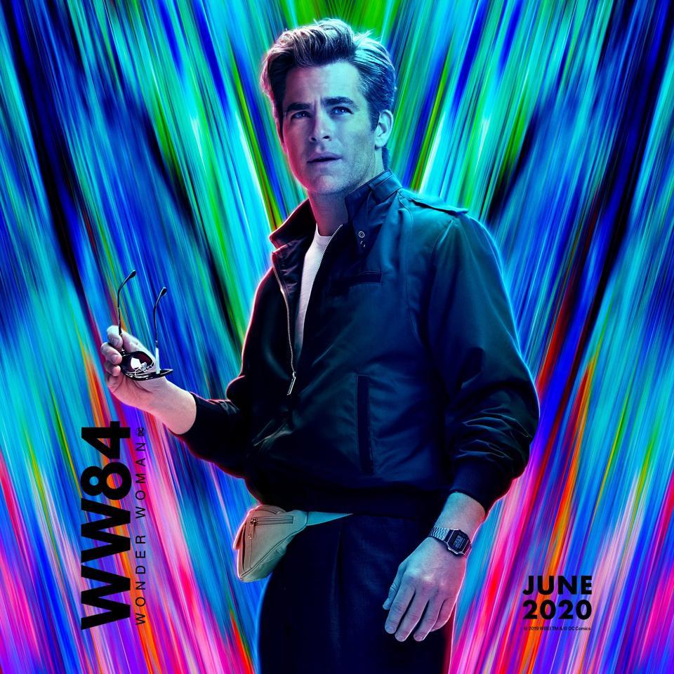 Chris Pine in 'Wonder Woman 1984'