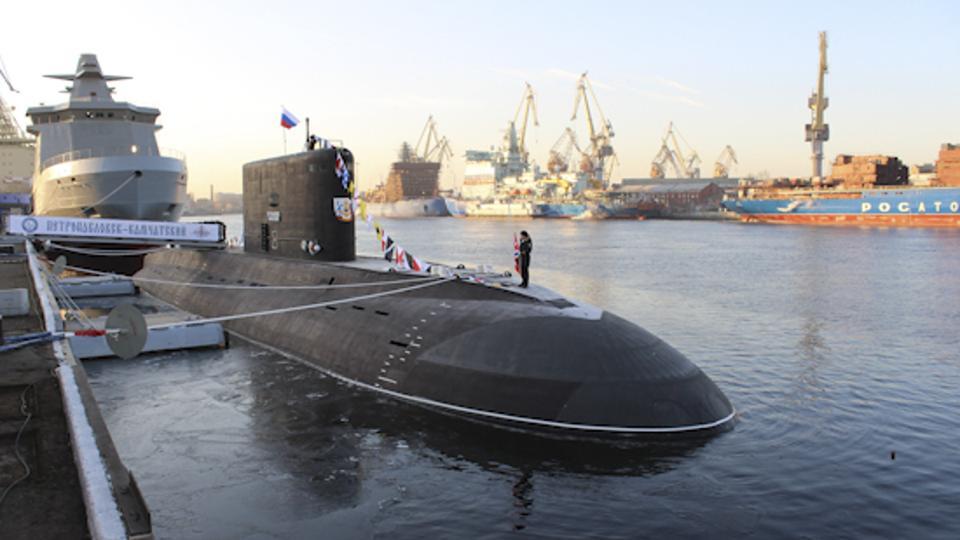Russian Navy Kilo Class Submarine