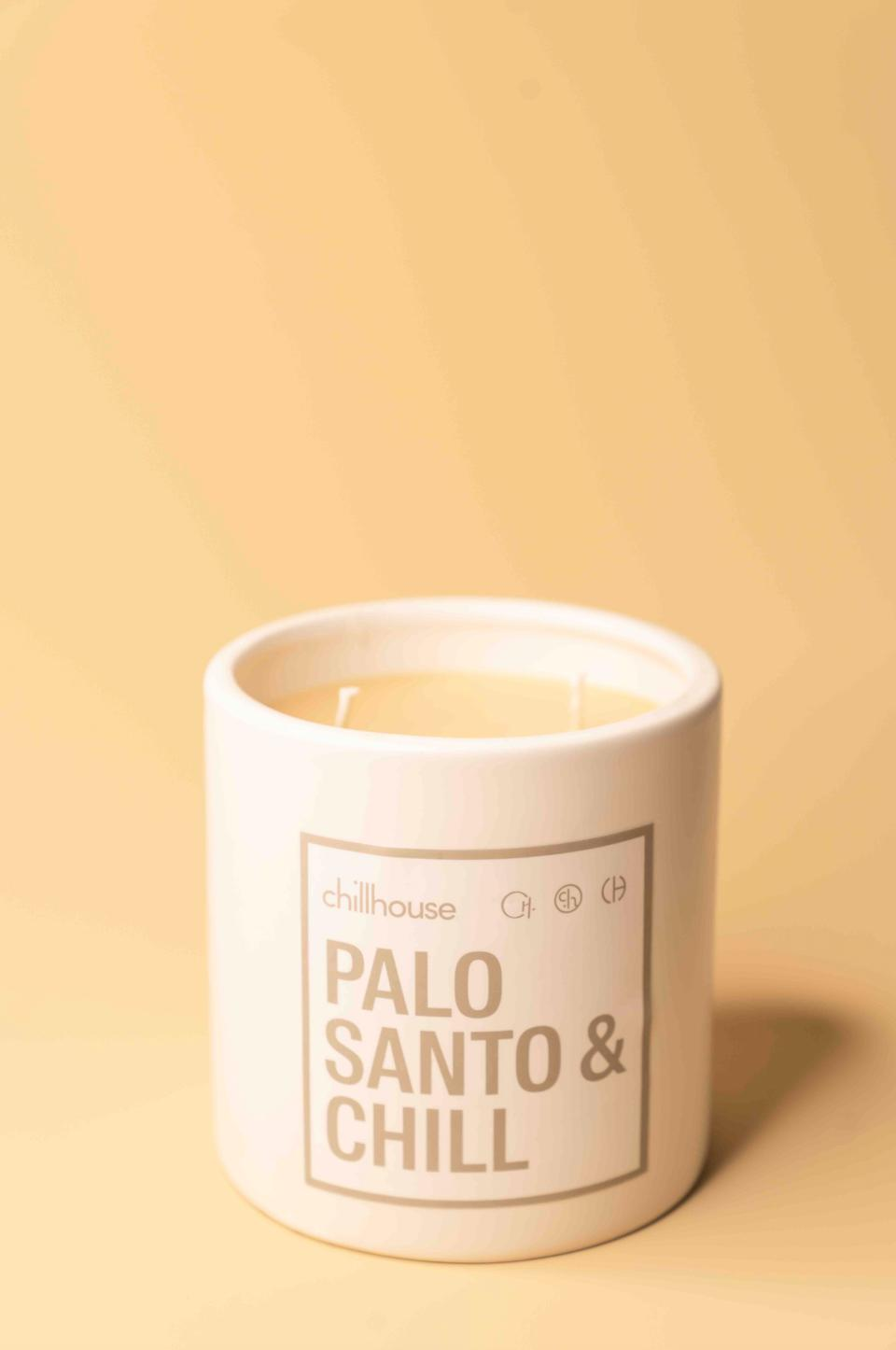 Chillhouse Palo Santo & Chill Candle.