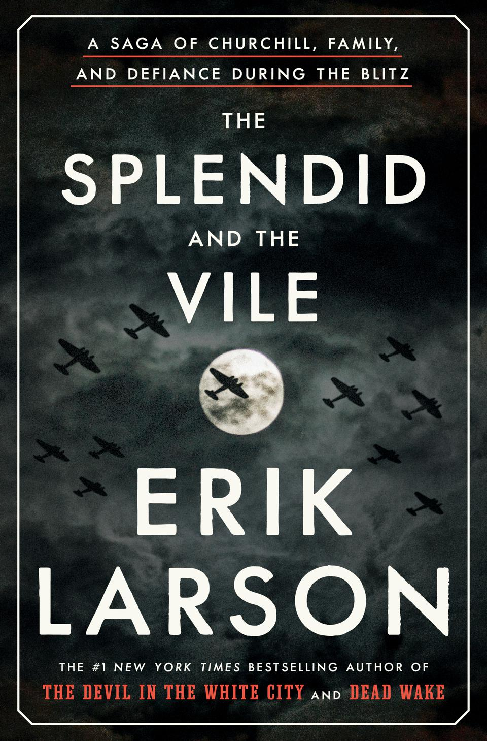 the splendid and vile erik larson churchill blitz crown book cover