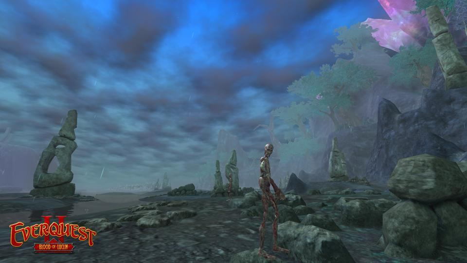 The Aurelian Bog from EverQuest II: Blood of Luclin.