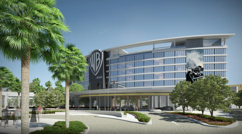 Guests at the WB Abu Dhabi hotel will have a happy ending to their day at the world's biggest indoor theme park next door