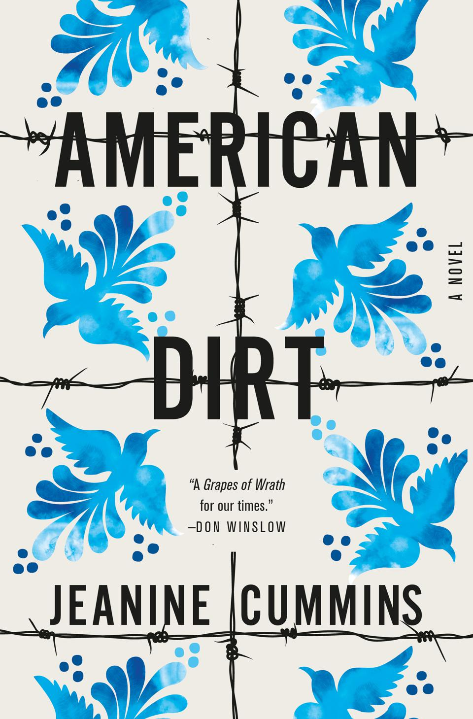american dirt jeanine cummins book cover flatiron books novel fiction