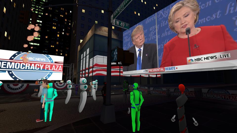 Altspace Presidential debate