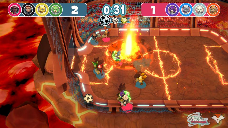 indie game, multiplayer, mario party, switch, nintendo, party game