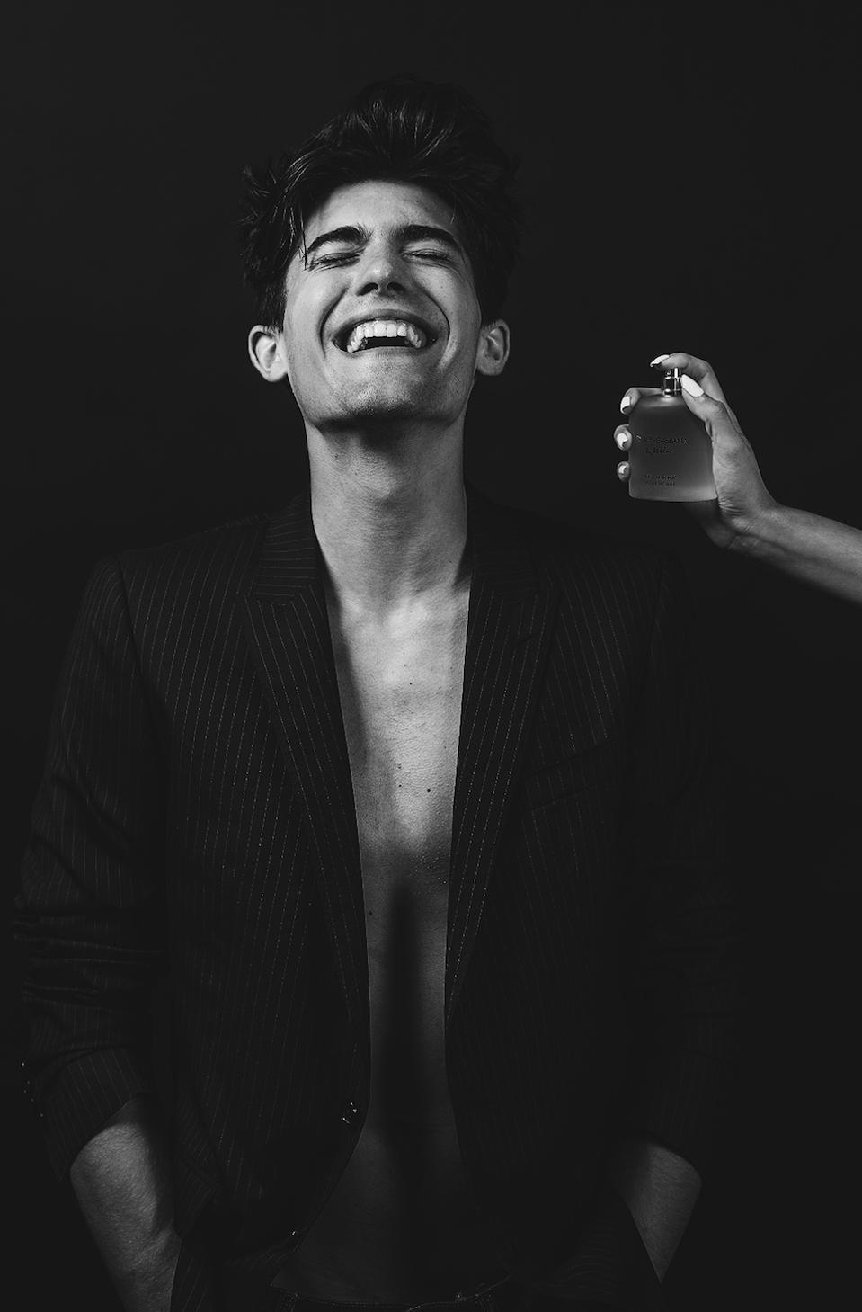 Musician/Style Influencer Noah Metzdorf for Dolce & Gabbana Men's Fragrance
