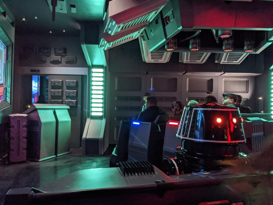 The droid piloting your escape vehicle  is a real character—and may be in a bit over its head.
