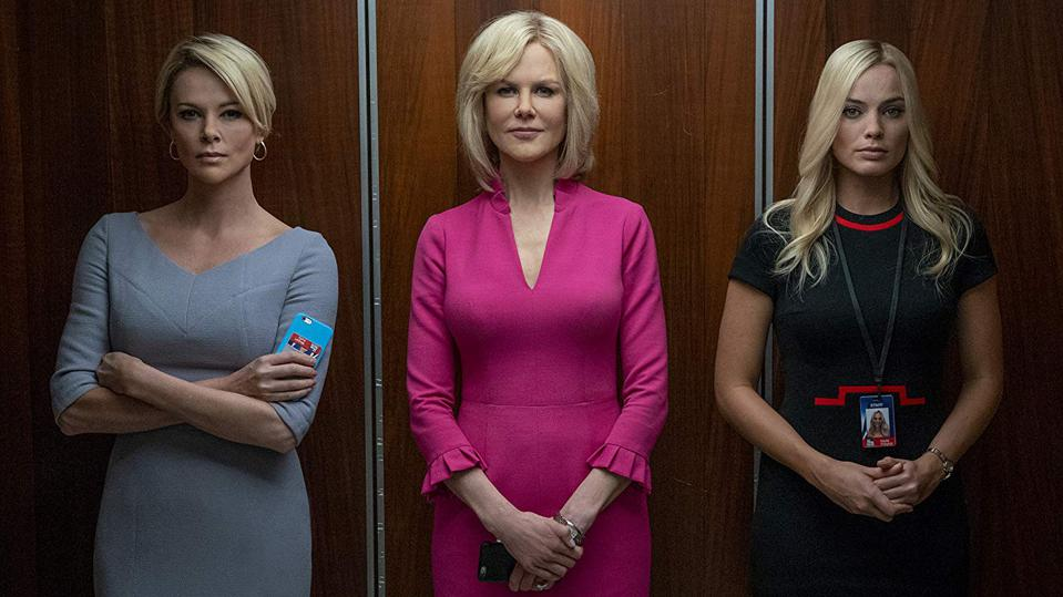 Charlize Theron, Nicole Kidman and Margot Robbie in 'Bombshell'