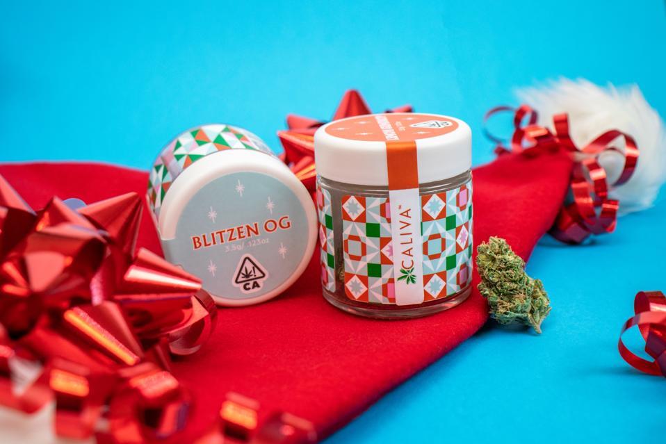Caliva, cannabis, cannabis gifts, cannabis gift guide, luxury cannabis
