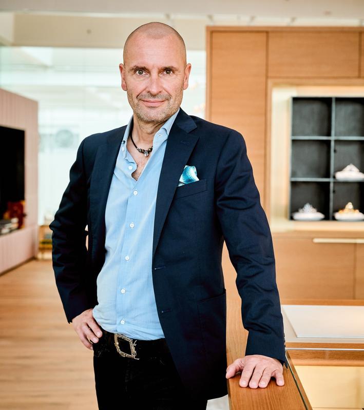 Robert Buchbauer, CEO of Swarovski Consumer Goods Business and Chairman of Swarovski's Executive Board