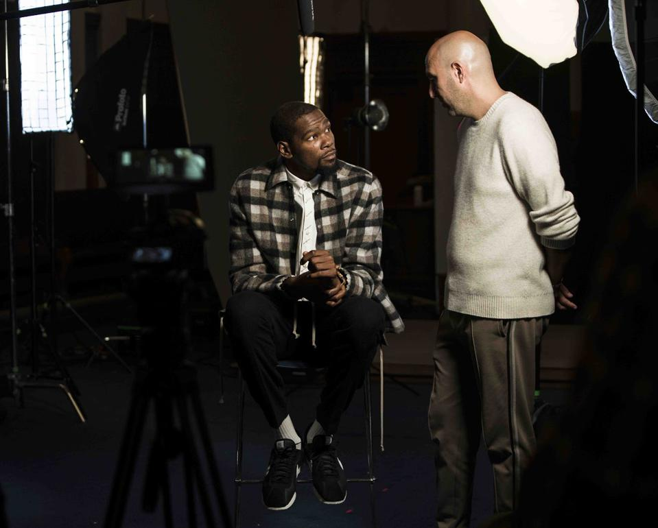 Kevin Durant & Rich Kleiman of Thirty Five Ventures  by Akira Ruiz_0139