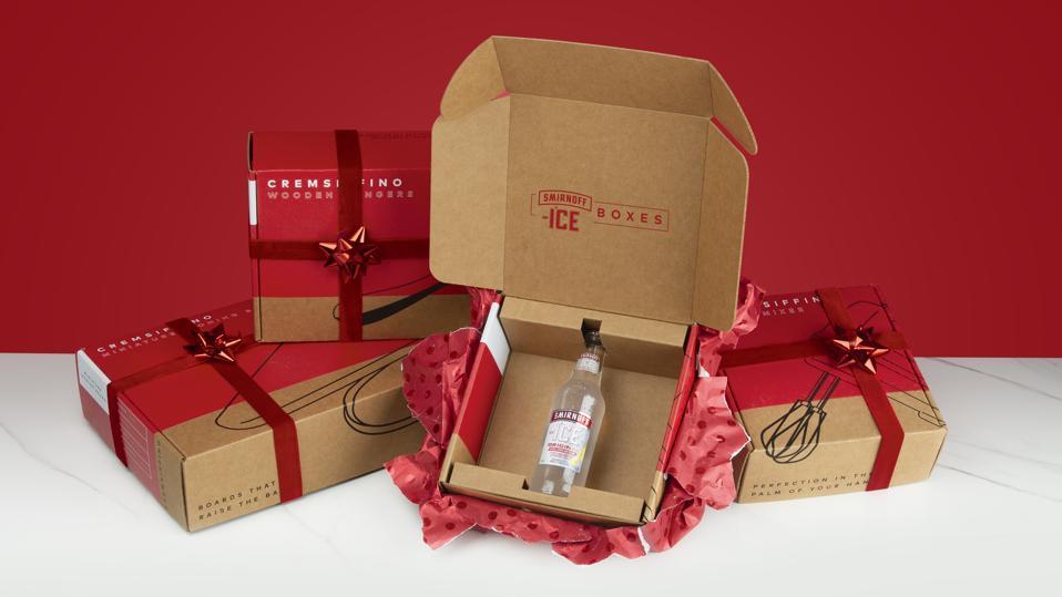 Smirnoff Ice ″Cremsiffino″ Boxes