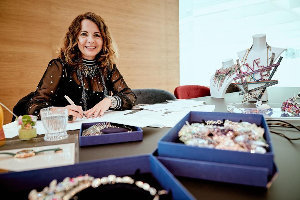 Nathalie Colin, Swarovski consumer goods business Creative Director