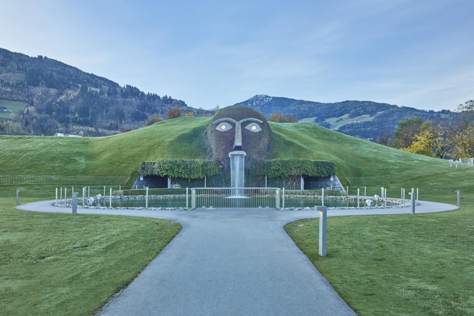 Swarovski Kristallwelten or Swarovski Crystal World near Wattens, Austria.