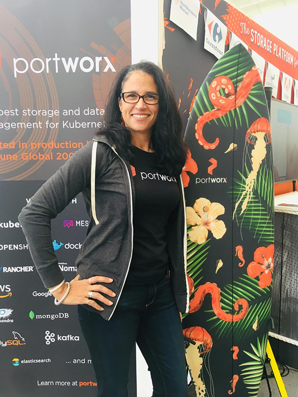 Lisa-Marie Namphy, a developer advocate and community architect at Portworx, runs the world's largest Cloud Native Computing Foundation meetup, Cloud Native Containers.