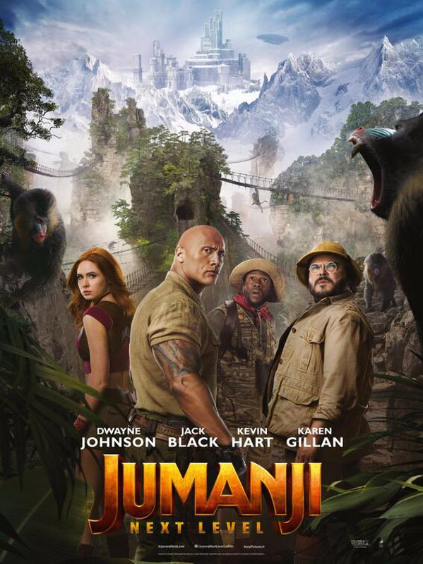 'Jumanji: The Next Level' poster