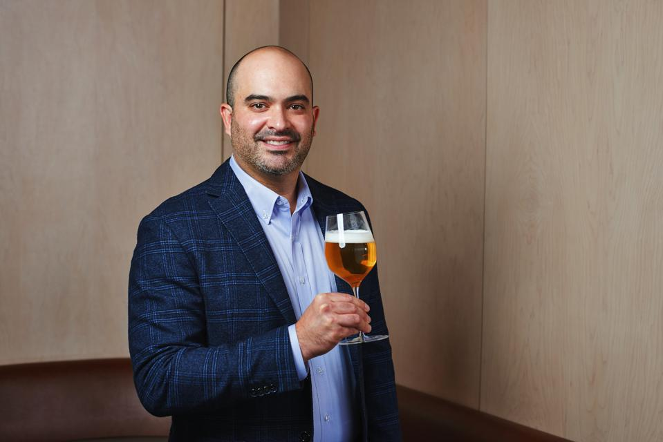 Jared Rouben, president and brewmaster of Chicago's Moody Tongue Brewing Company, approaches brewing with a chef's mindset.