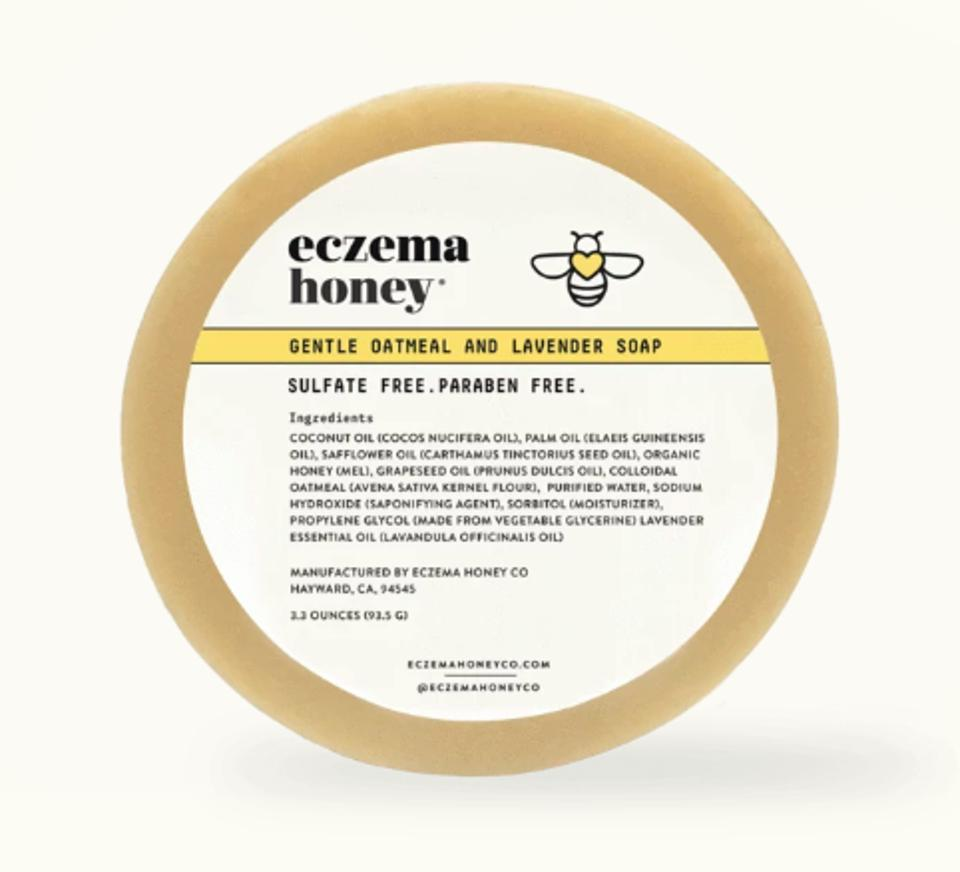 ECZEMA HONEY Gentle Oatmeal and Lavender Soap