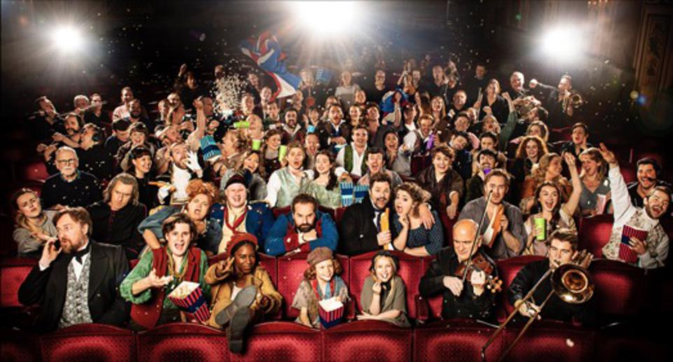 The cast of Les Miserables: The Staged Concert
