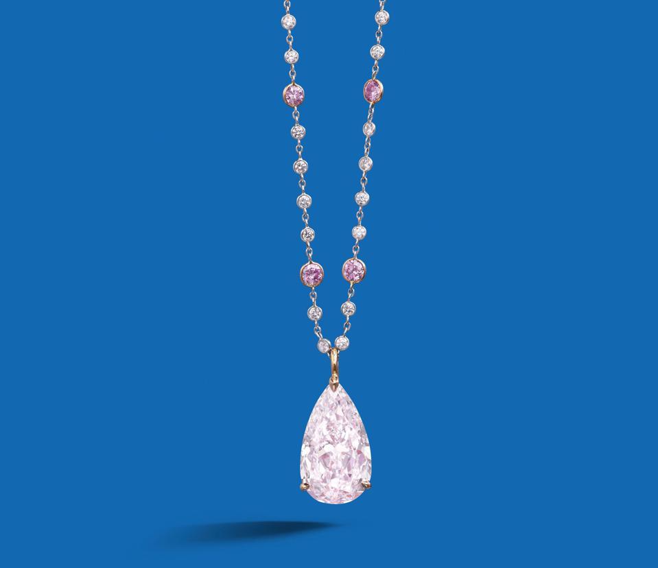 When pink diamonds come up for auction, they often fetch astronomically high prices.