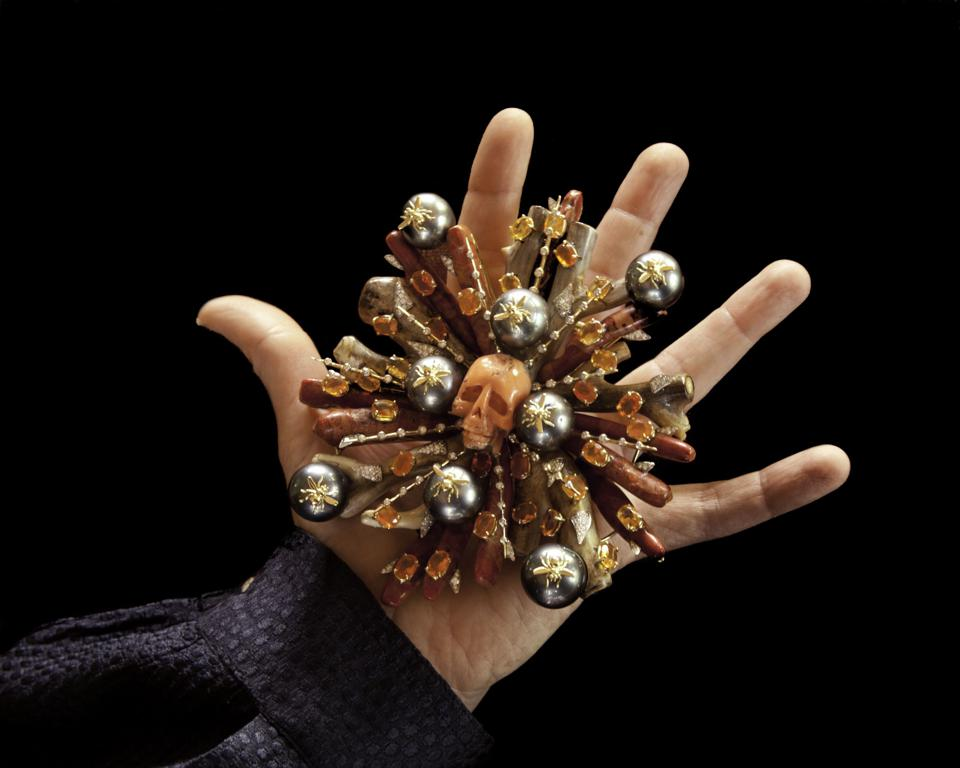 Tony Duquette brooch