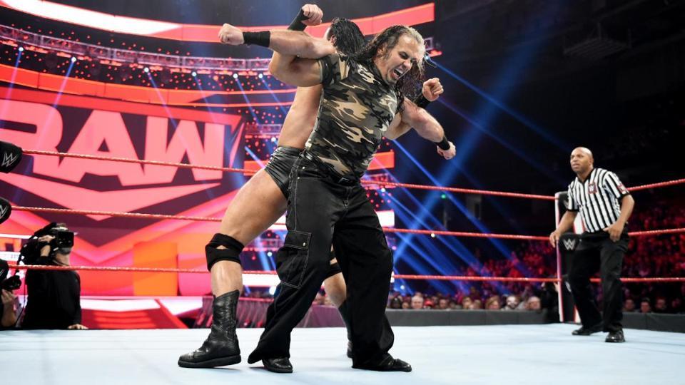Matt Hardy VS Drew McIntyre en WWE Raw