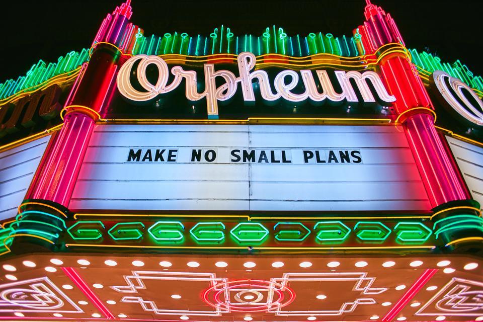 Orpheum Theatre in downtown LA