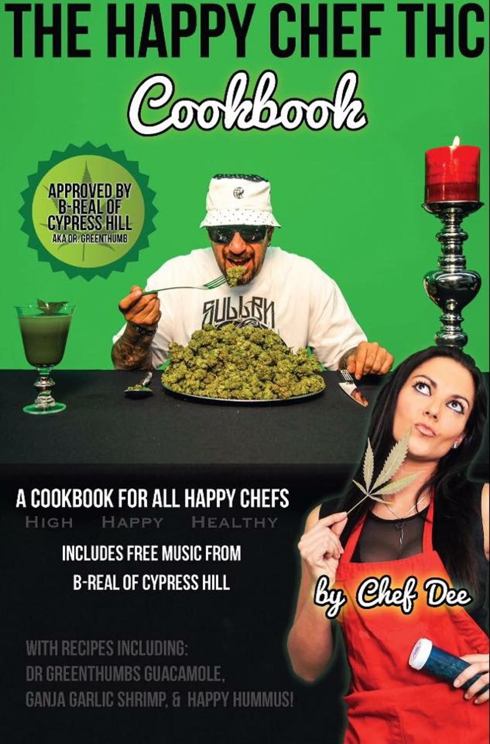 A Happy Chef THC szakácskönyve