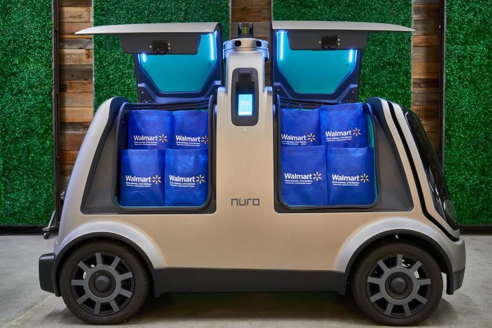 Walmart and Nuro are launching an autonomous delivery service in metropolitan Houston.