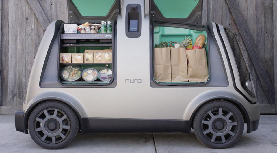 Nuro self-driving van.