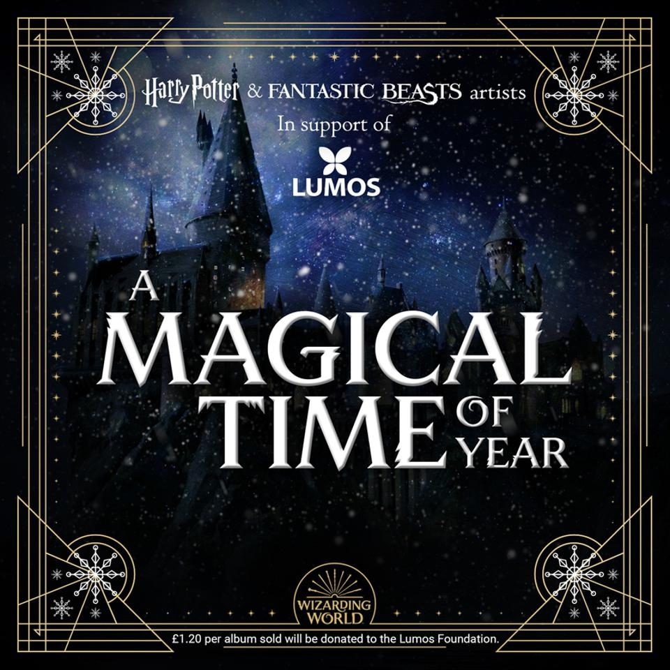 'A Magical Time of Year' Christmas album for J.K. Rowling's children's charity, Lumos.