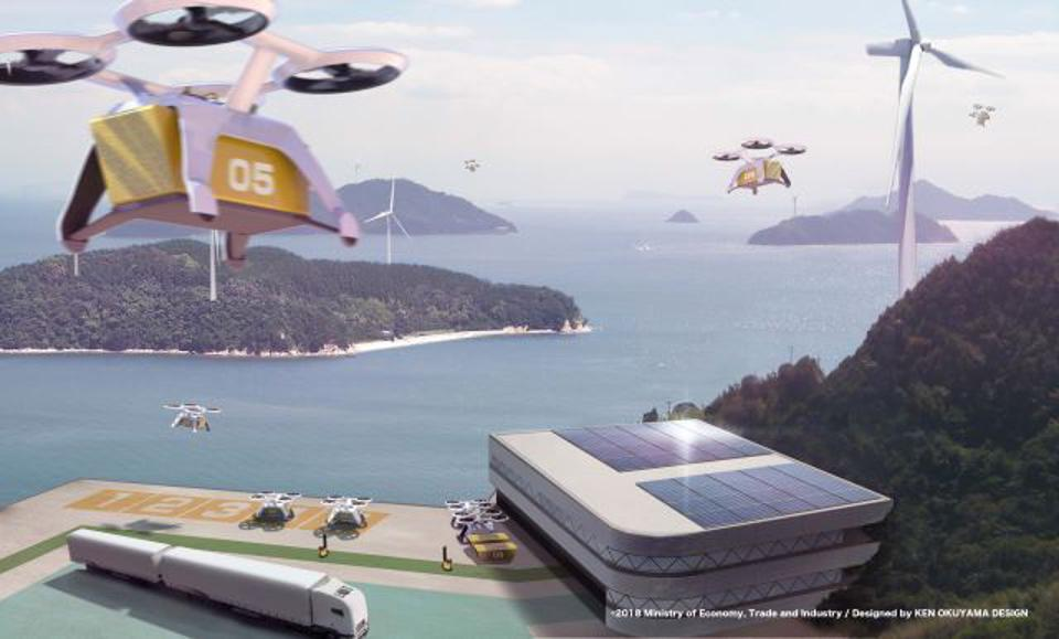 Japan is aiming to use autonomous flying vehicles