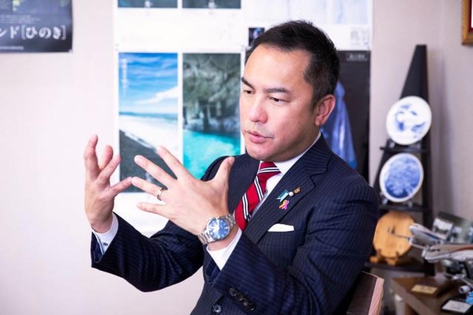 Mie Prefecture Governor Eikei Suzuki