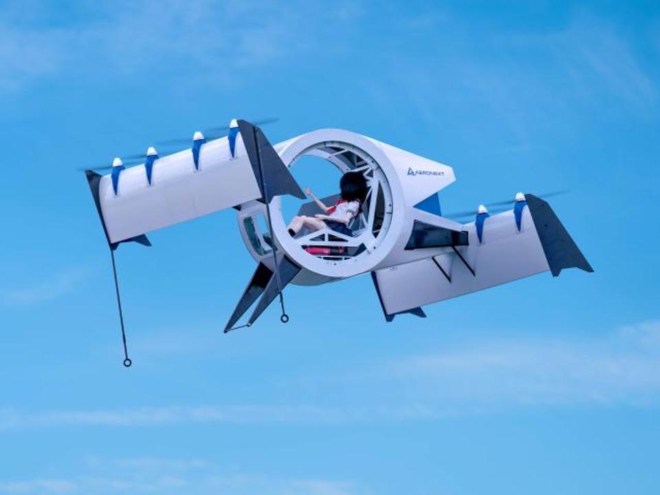 Aeronext's one-third scale model of its Flying Gondola