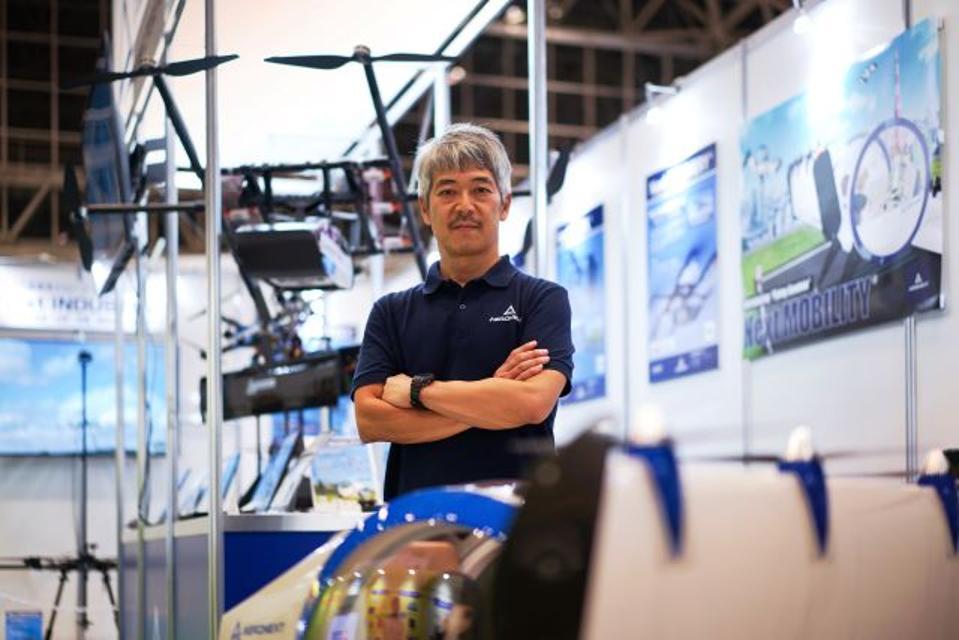 Aeronext CEO Keisuke Toji