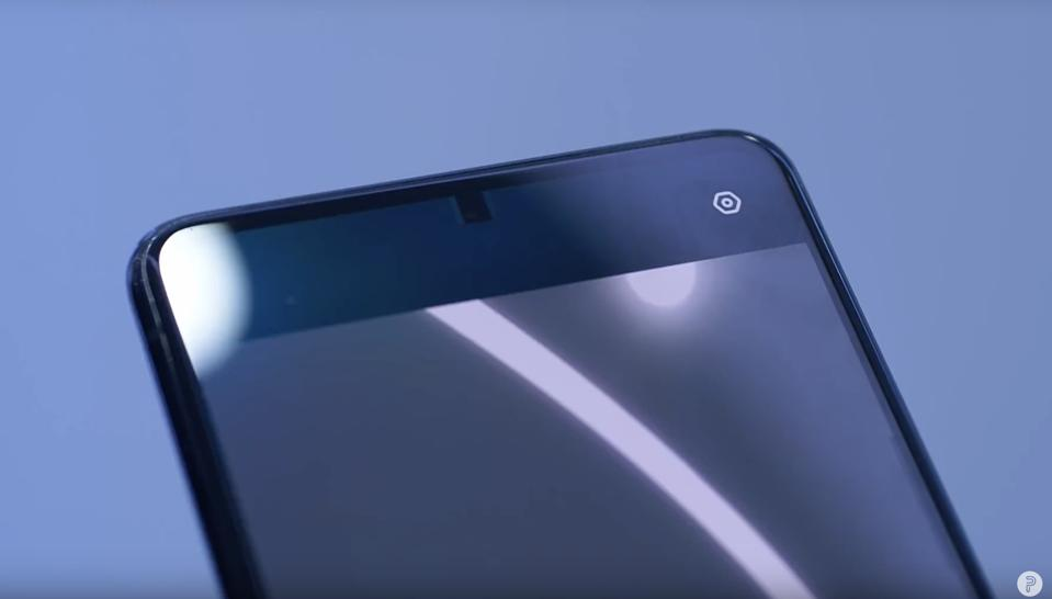 Oppo has built the world's first underscreen selfie camera that is mostly invisible to the human eye except when the camera is being used.