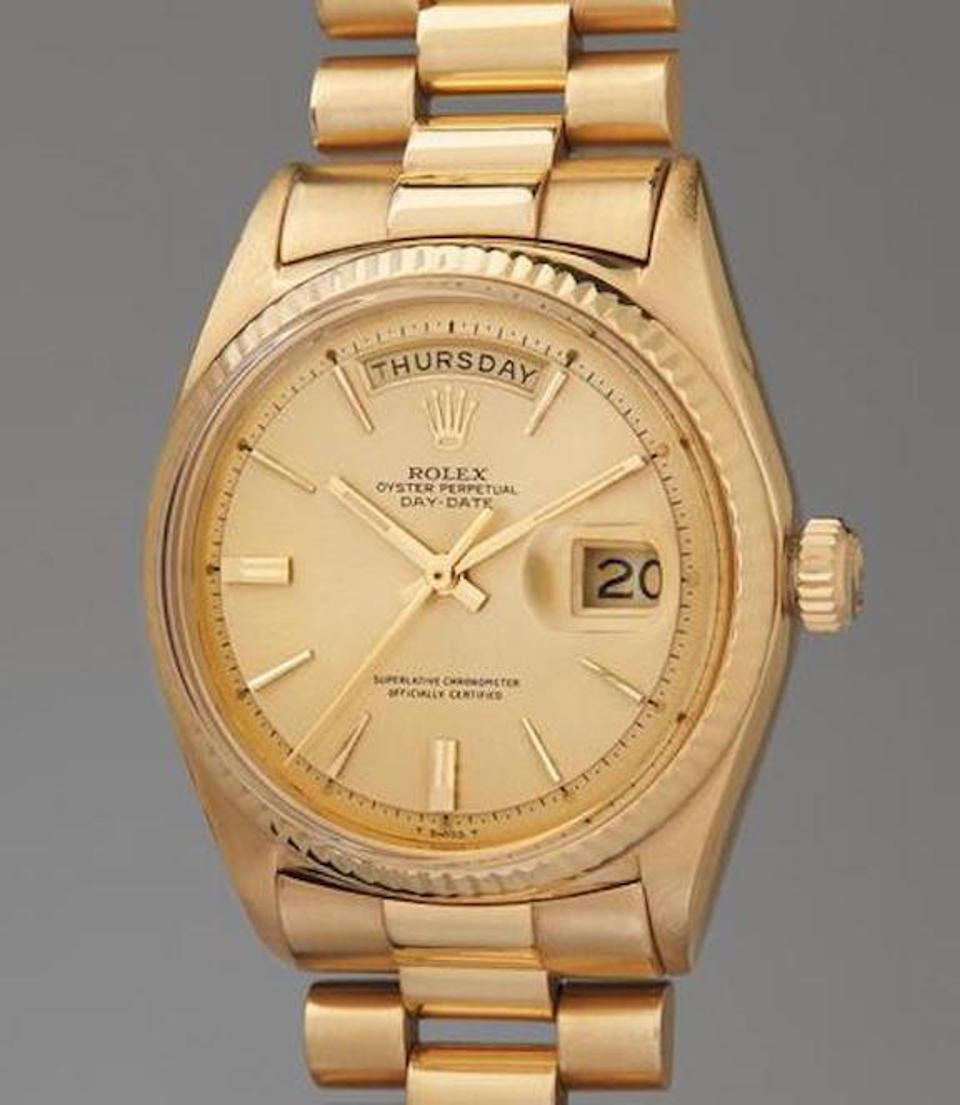 Jack Nicklaus Rolex watch sells for $1 million