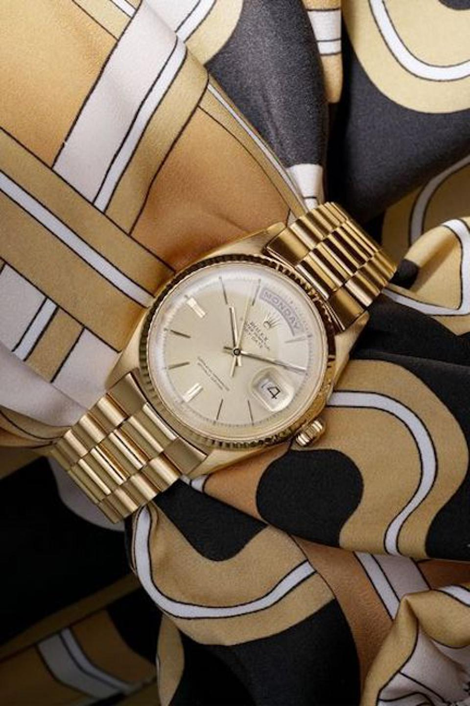 Rolex Day Date watch owned by Jack Nicklaus sells for $1 million at the Phillips in Association with Bacs  & Russo ″