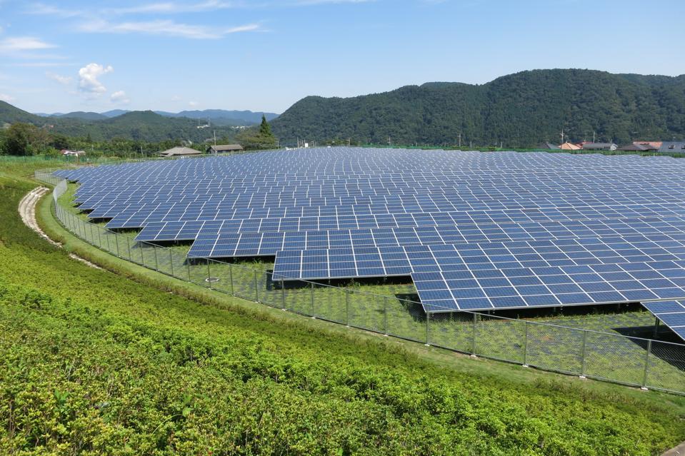 Japan solar plant