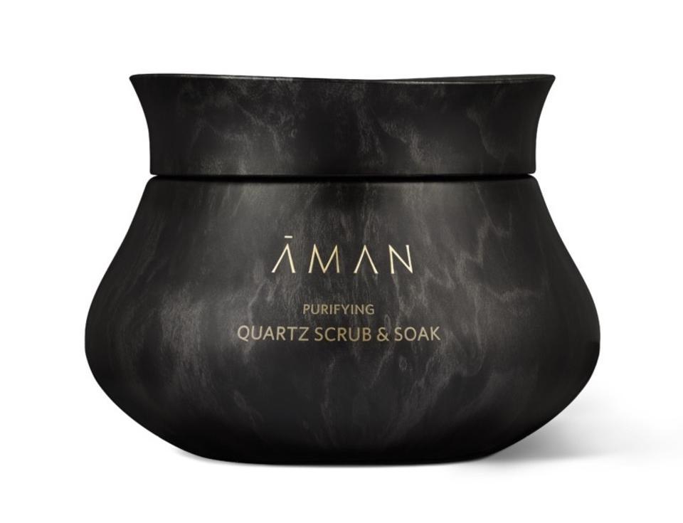 Aman Skincare Purifying Quartz Scrub Soak