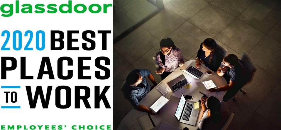 Glassdoor's Best Places To Work In 2020 Shows Tech Is The Future