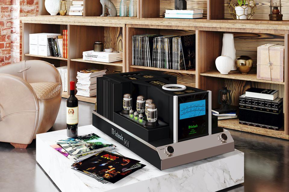 McIntosh Blends Tubes And Transistors In One Innovative Beast Of An Amplifier