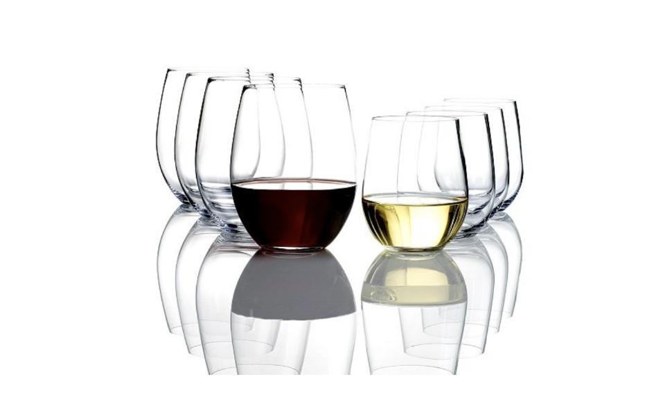 Reidel O Cabernet and Chardonnay Wine Glasses