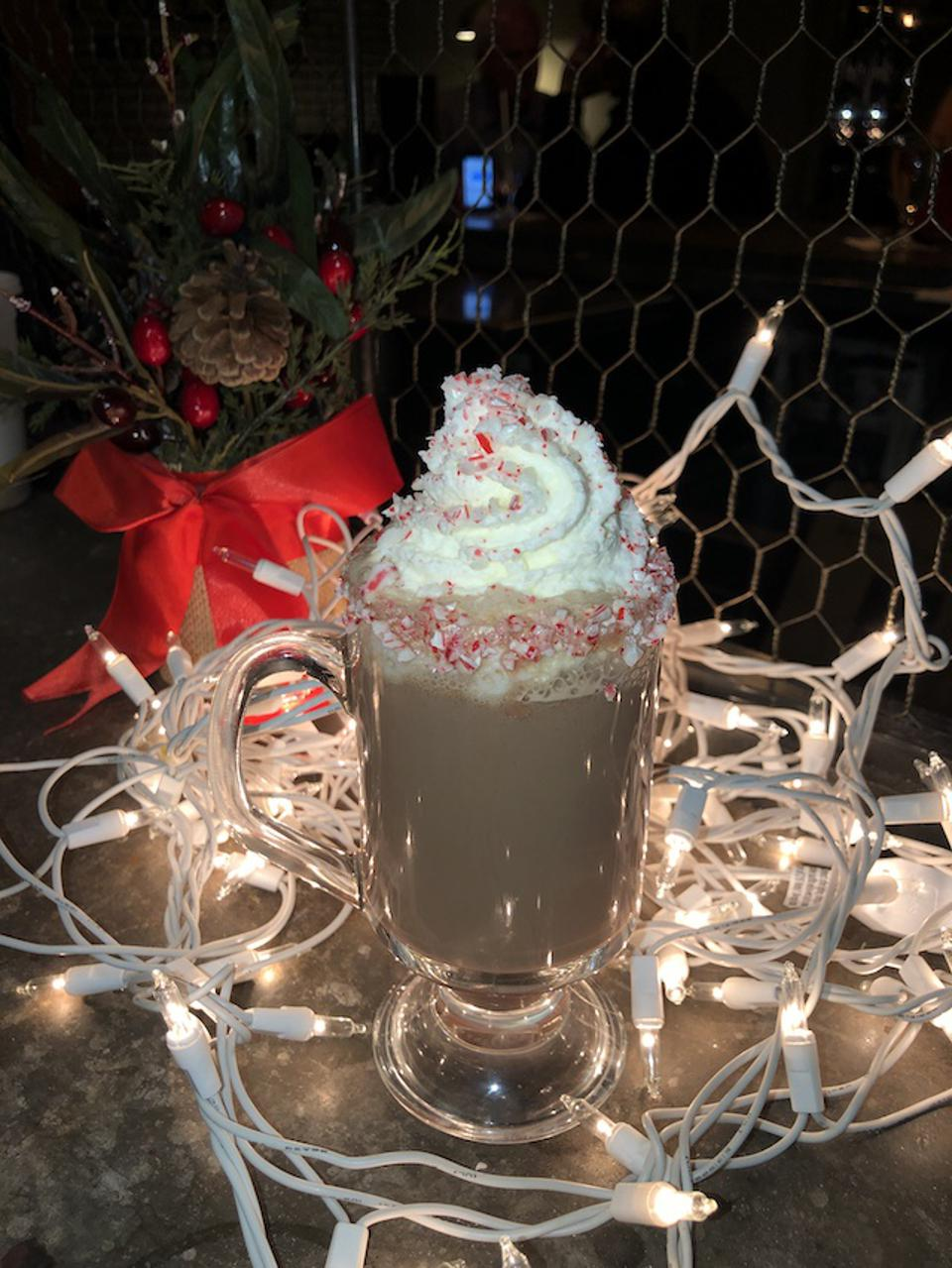 Peppermint Patty at the Precinct Kitchen + Bar