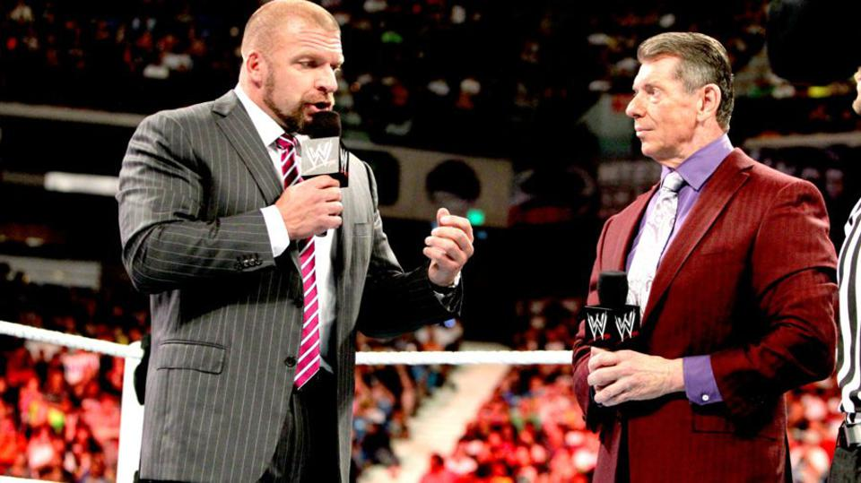 WWE Raw: Vince McMahon and Triple H