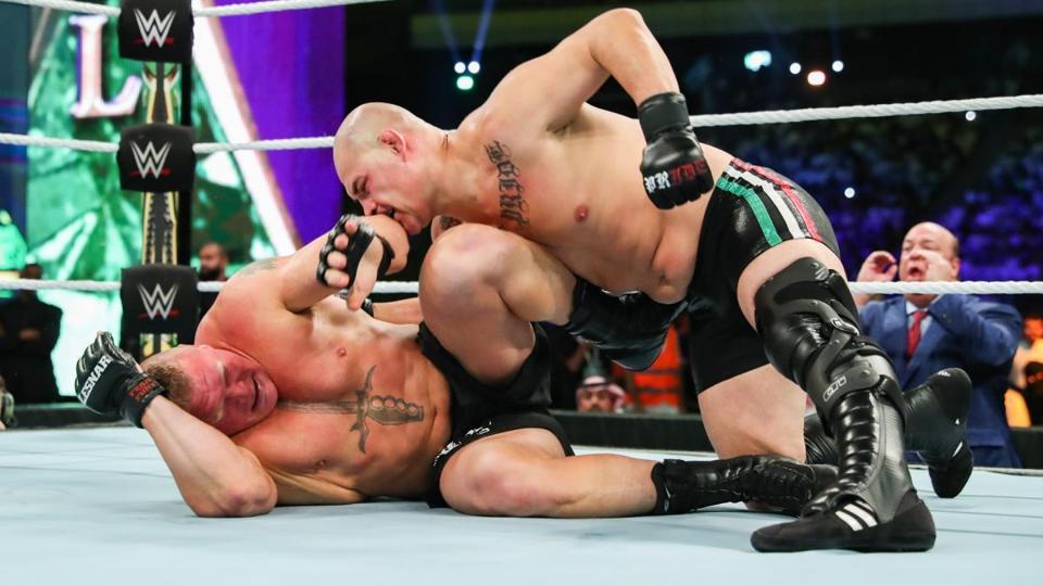 WWE Crown Jewel 2019: Brock Lesnar vs. Cain Velasquez