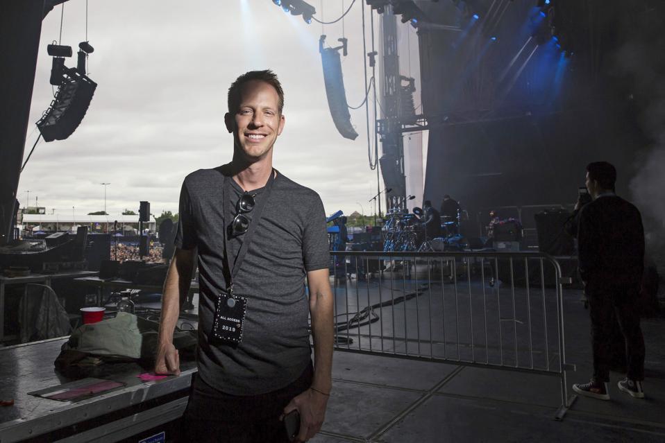 CEO of Virgin Fest Jason Felts