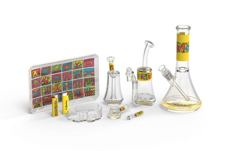 Greenlane, Keith Haring, K. Haring Collection, cannabis gifts, luxury cannabis